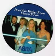 ABBA Does Your Mother Know Vinyl Record 7 Inch Polar 2019 Picture Disc